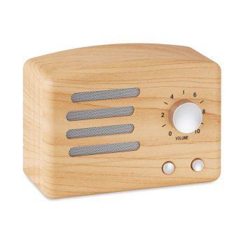 Lautsprecher Retrooptik Holz