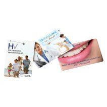 Zahnseidekarte Dentocard von München Werbeartikel