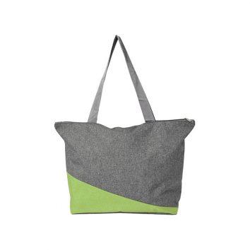 7728-019_foto-1-einkaufstasche-oslo-aus-polycanvas-gruen-muenchen-werbeartikel