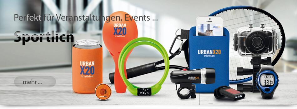 Werbeartikel für Sport Freihzeit und Events von München-Werbeartikel