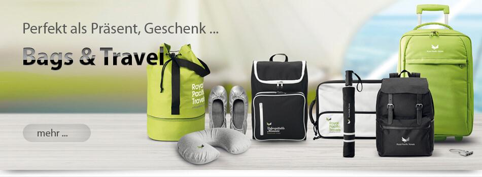 Werbeartikel Taschen Rucksäcke Dokumententasche Reisetasche bedruckbar