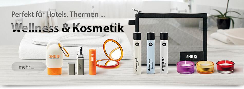 Wellness-Kosmetik-Cemes-Lippenbalsam-Kulturbeutel-Spiegel-Kerzen-Duft bedruckt von München-Werbeartikel