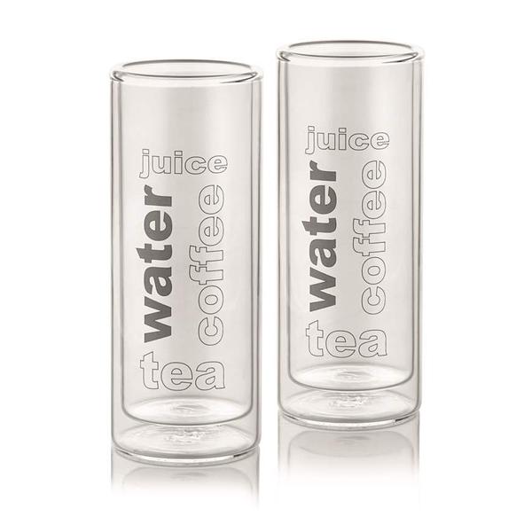 Thermoglas für Kalt- und Heißgetränke