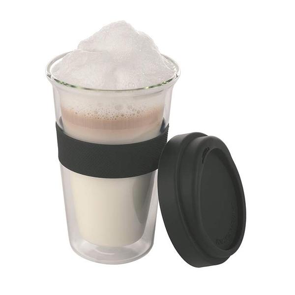 Glas Thermotogo für Kalt- und Heißgetränke