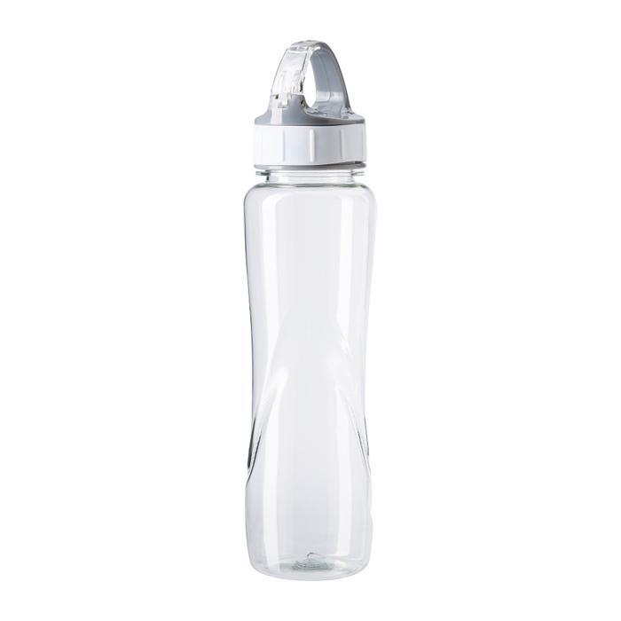 Kunststoff Trinkflasche mit Schnellverschluss (bedruckbar als Werbeartikel)