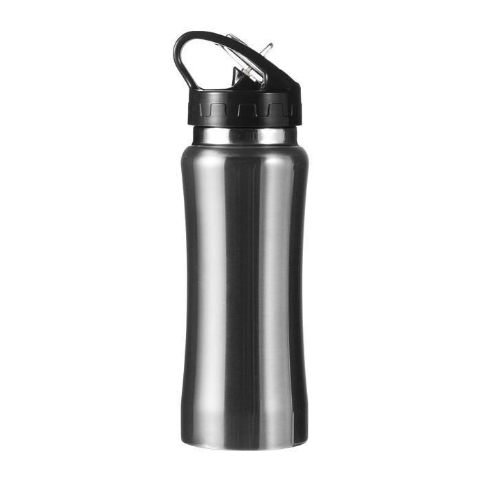trinkflasche aus edelstahl mit schnellverschluss. Black Bedroom Furniture Sets. Home Design Ideas