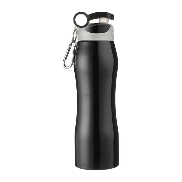 Edelstahl Isolierflasche mit Schnellverschluss (bedruckbar)