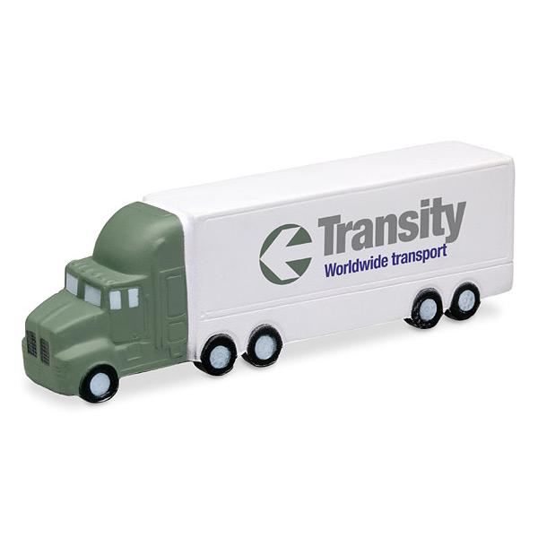 Anti Stressball als LKW Truck zum Bedrucken als Werbegeschenk