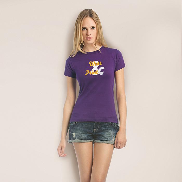 T-Shirt günstig als Werbeprodukt mit Logo bedruckbar
