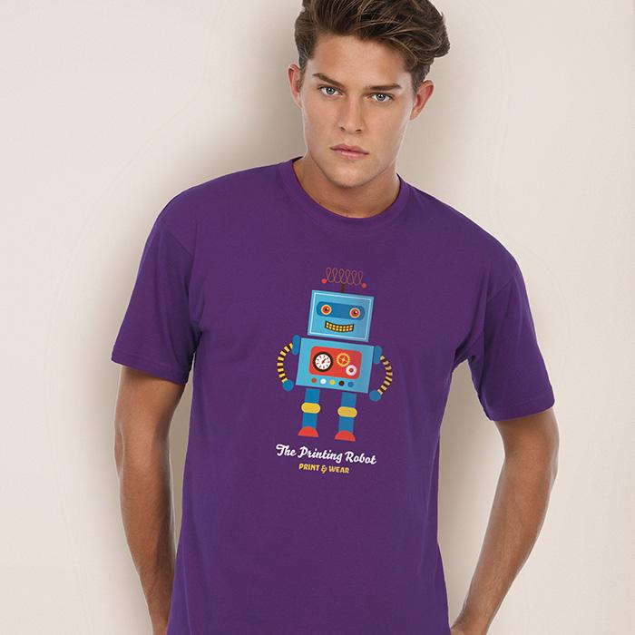T-Shirt (individuell mit Logo bedruckbar als Werbeträger)