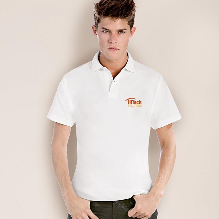 Polo-Shirt als Werbepräsent zum Bedrucken mit individuellem Logo