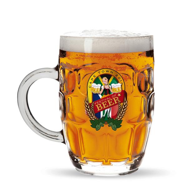 Bierglas bedruckbar als Werbeartikel