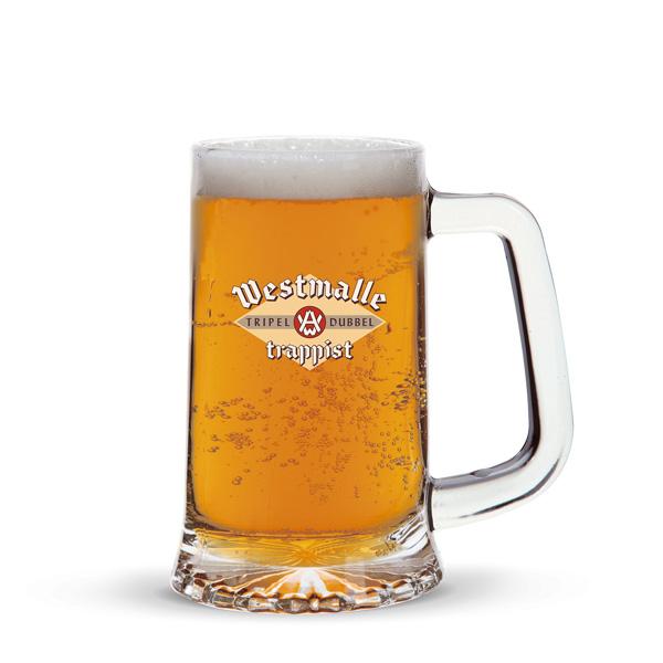 Bierkrug aus Glas bedruckbar