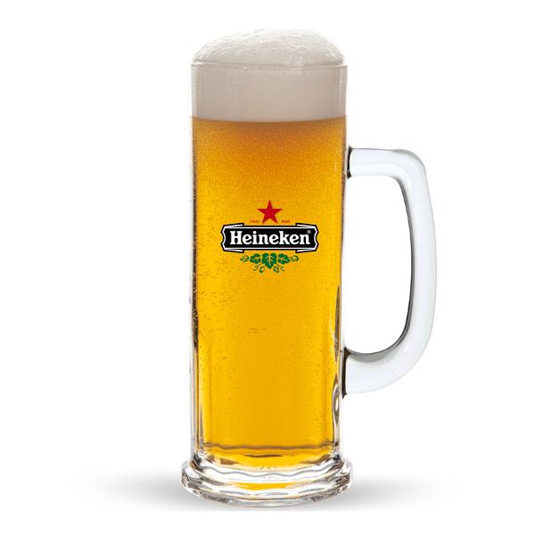Werbeartikel Bierglas 0,5l bedruckbar