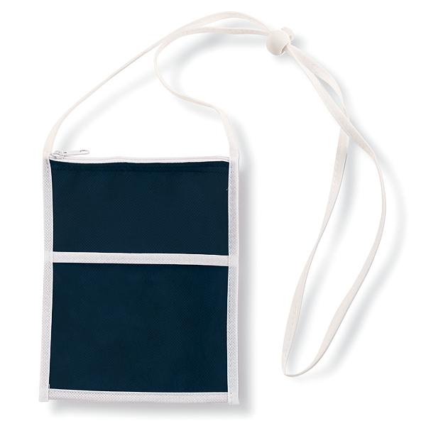Brusttasche zum Umhängen Non Woven (bedruckbar)