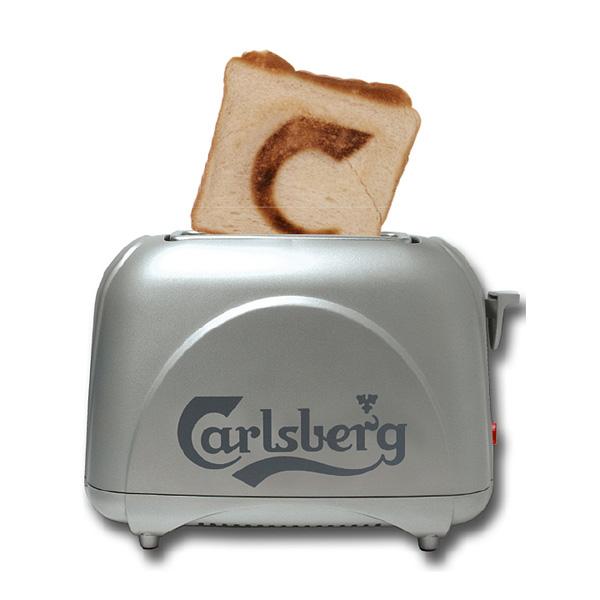 Toaster bedrucken als Werbegeschenk