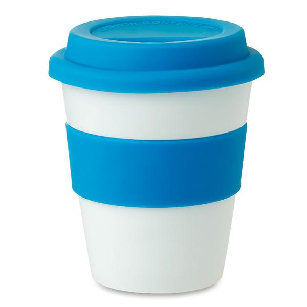 Kunststoff Cofffe To Go Becher zum bedrucken