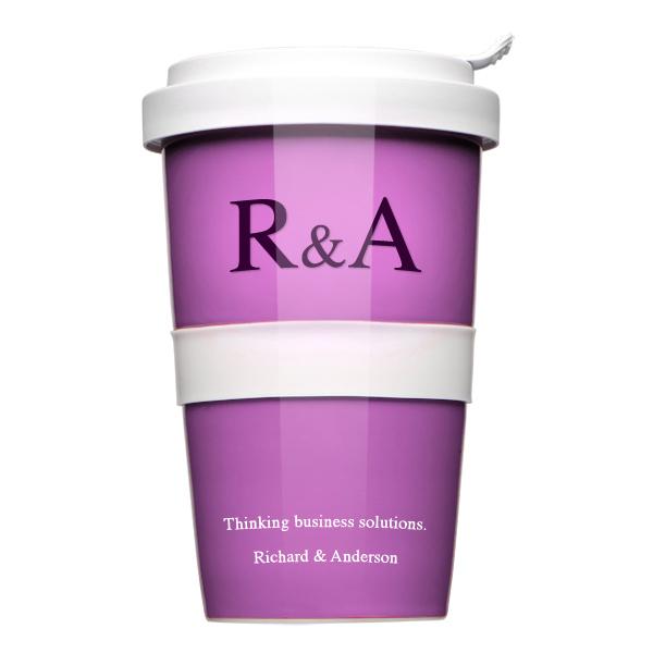 Coffee-to-go Werbeartikel mit Logo bedrucken