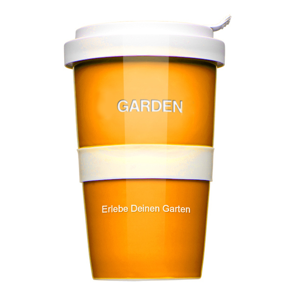 500Stück Coffee to go Becher 1-c Druck + Logogravur als Werbeartikel