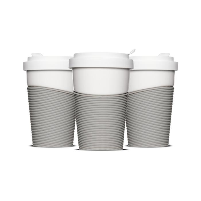 Wave-Coffeetogo Porzellan-Becher bedrucken lassen (0,40l)