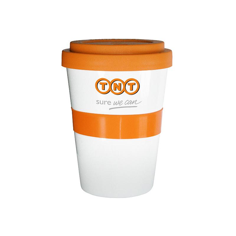 1000 Stück Coffee2go Becher 350ml inkl. 2-c Logodruck als Werbeartikel bedruckt
