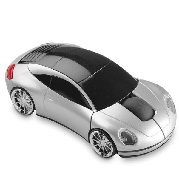 Laptop Mouse als Auto – Sportwagen (zum bedrucken)