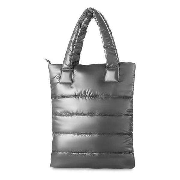 Einkaufstasche mit gestepptem Polyester (bedruckbar)