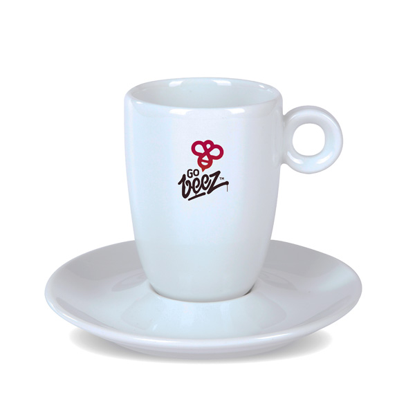 Espresso-Tasse & Cappuccino-Tasse bedruckbar
