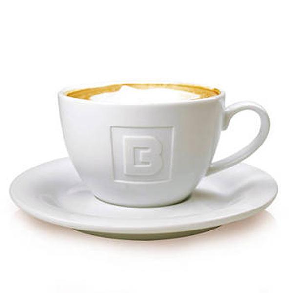 Espresso 0,09l & Cappuccino 0,20l (mit Gravur oder Werbedruck)