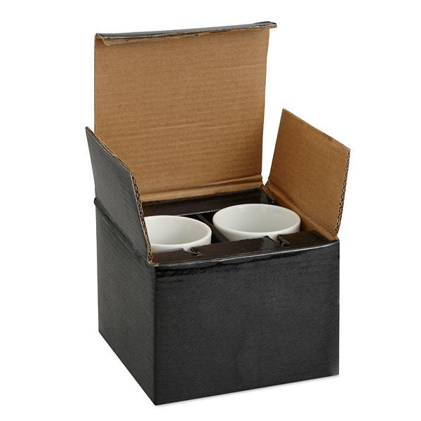 Espresso Set zum Bedrucken als Werbegeschenk