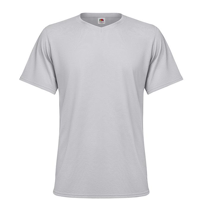 V-Neck-T-Shirt als Werbeartikel