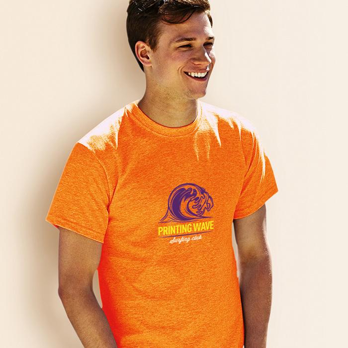 T-Shirt online als Werbepräsent mit Logo bedruckbar