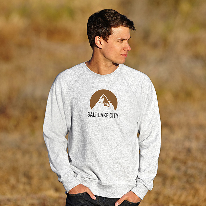 Sweatshirt als Werbegeschenk zum Bedrucken mit individuellem Logo