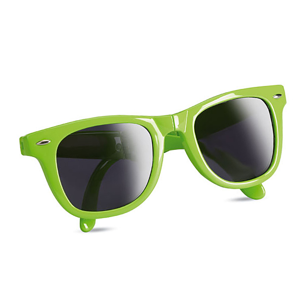 Faltbare Sonnenbrille (zum bedrucken als Werbegeschenk)