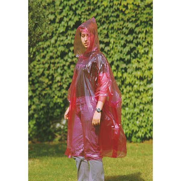 Regenmantel mit Kapuze bedrucken