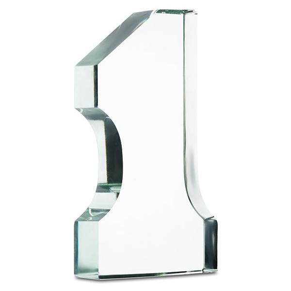 Glastrophäe (bedruckbar)
