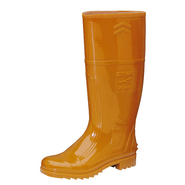 Gummistiefel orange (bedruckbar)
