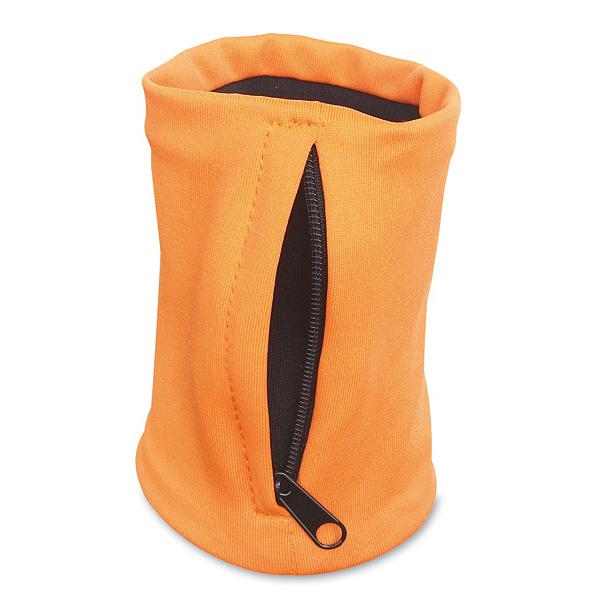 Handgelenk-Tasche in Orange, Blau und Rot (bedruckbar)