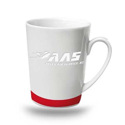 Kaffeebecher mit Gravur und Druck individuelles Design
