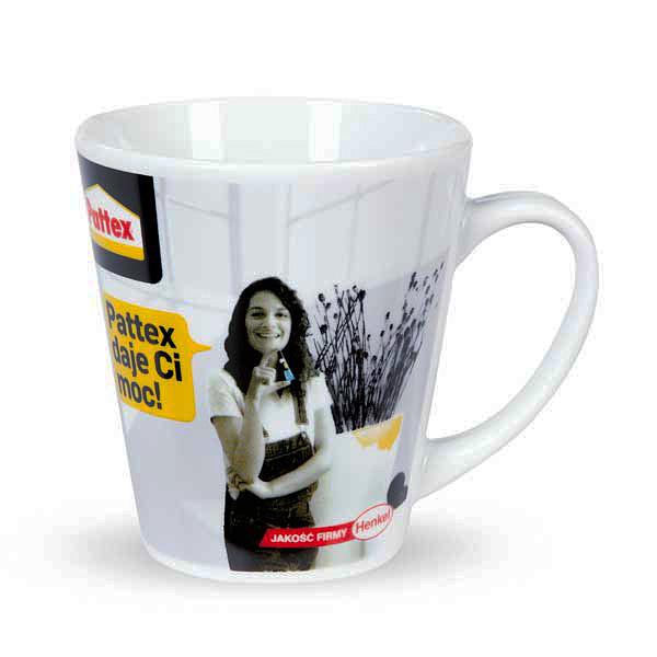 Kaffeetasse mit Logodruck