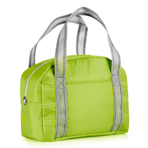 Kühltasche grün oder blau als Werbemittel