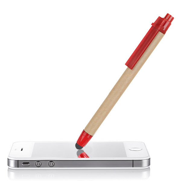 Öko Recycling Touch Pen Kugelschreiber (bedruckbar)