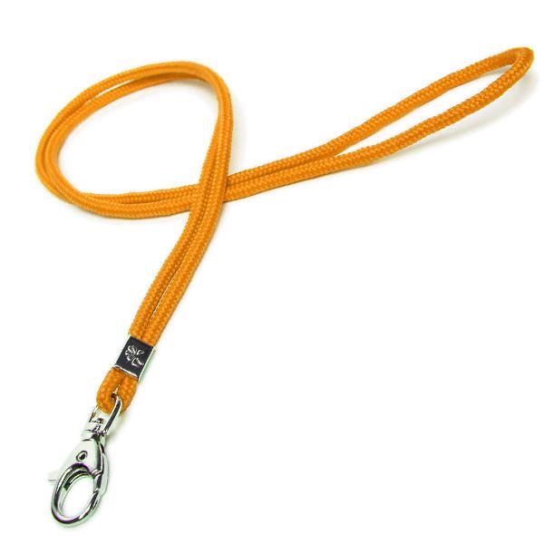 Lanyard / Schlüsselschnur orange (ohne Bedruckung)