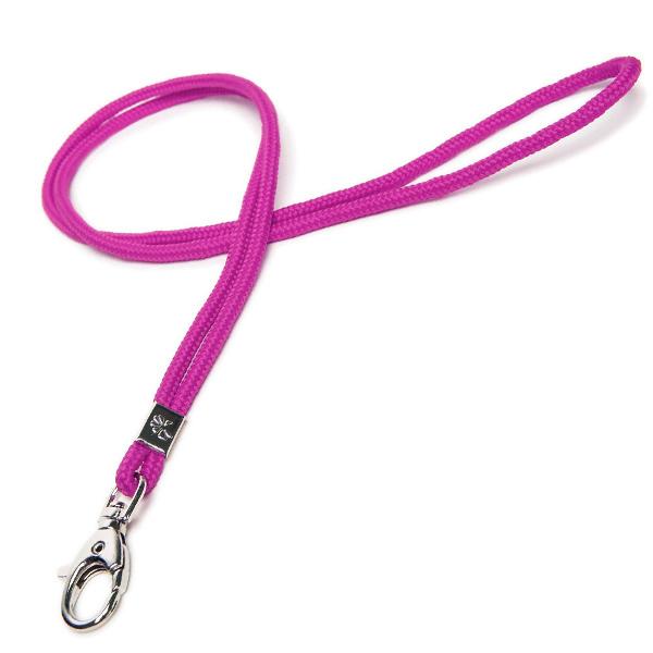 Lanyard / Schlüsselschnur rosa / violett (ohne Bedruckung)