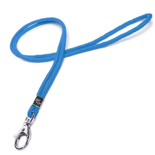 Lanyard / Schlüsselschnur blau mit Karabiner