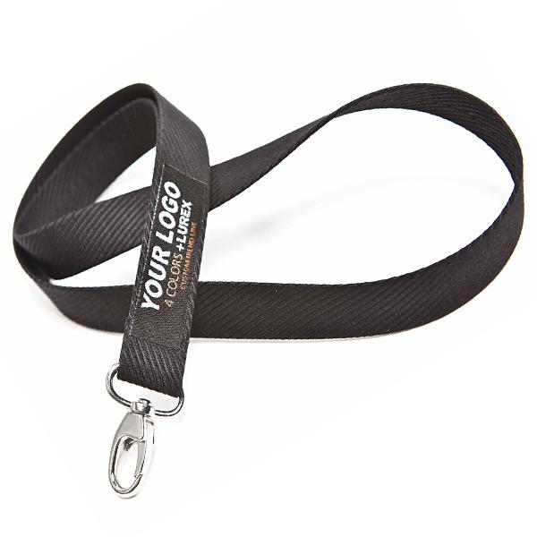 Schlüsselband Schwarz bedrucken als Werbegeschenk