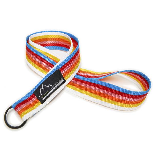 Lanyard breit, mehrfarbig / multicolor mit Schlüsselring (mit Logostick)