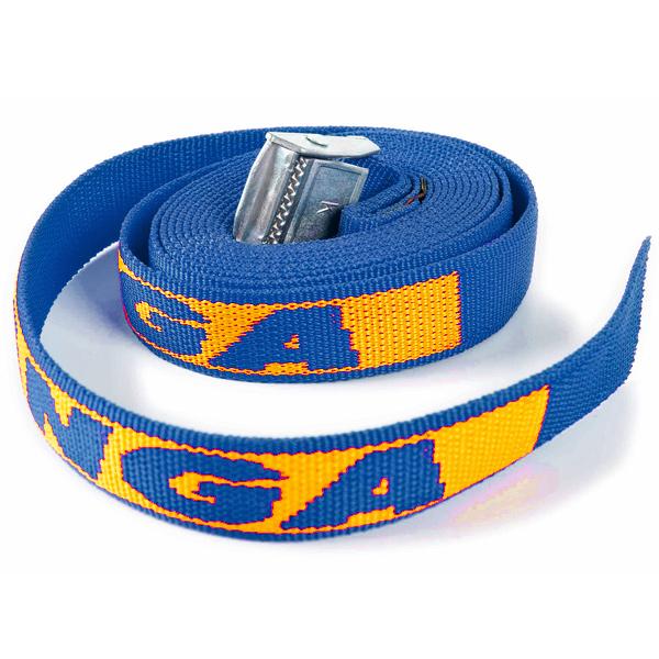 Kofferband Extra lang blau (bedruckbar)