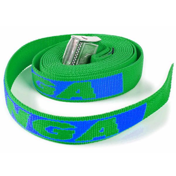 Kofferband Extra lang grün (bedruckbar)