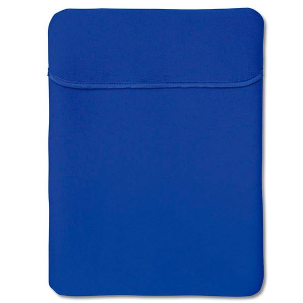 Tablet PC Neoprentasche in schwarz oder blau (zum bedrucken)